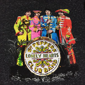 The Beatles Sgt Peppers T-shirt Size L